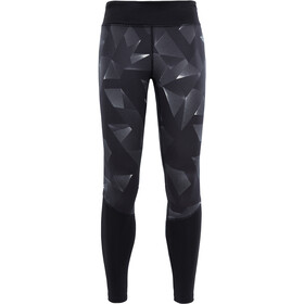 The North Face Pulse Tights Dam tnf black space geo print